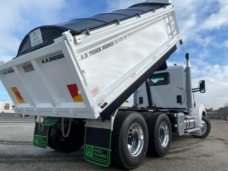 Kenworth Tipper Truck Body